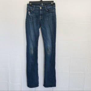 7 For All Mankind Skinny Bootcut Jeans Size 25